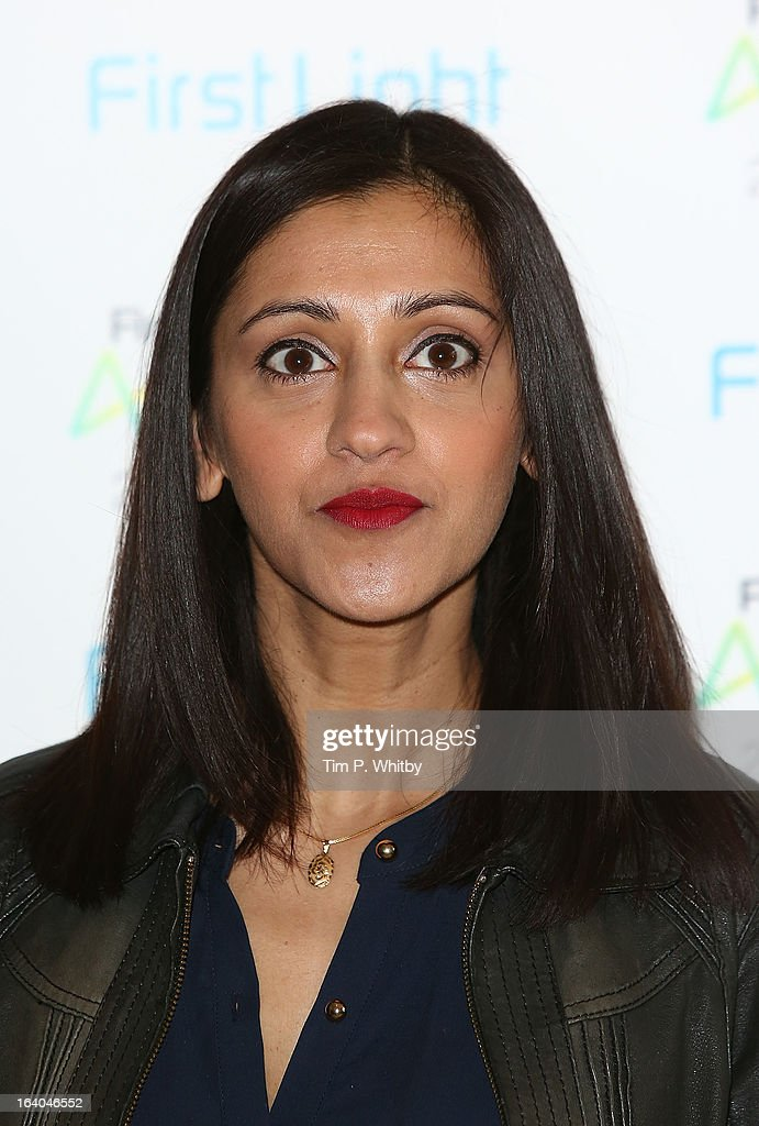 Manjinder Virk attends the First Light Awards at Odeon Leicester Square on March 19, 2013 in London, England.