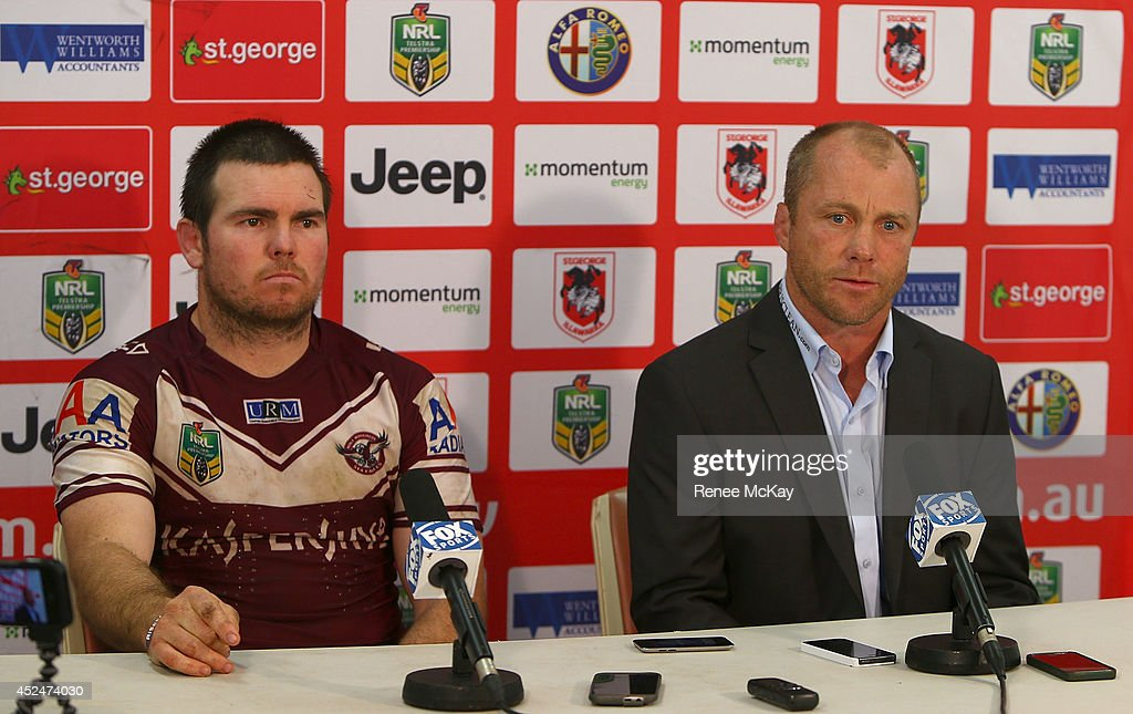 NRL Rd 19 - Dragons v Sea Eagles