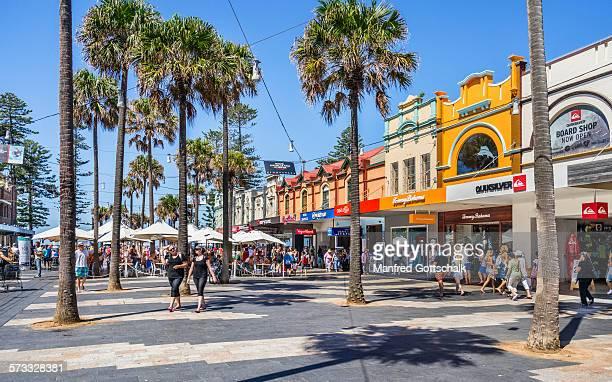 Manly Corso beachgoers thoroughfare
