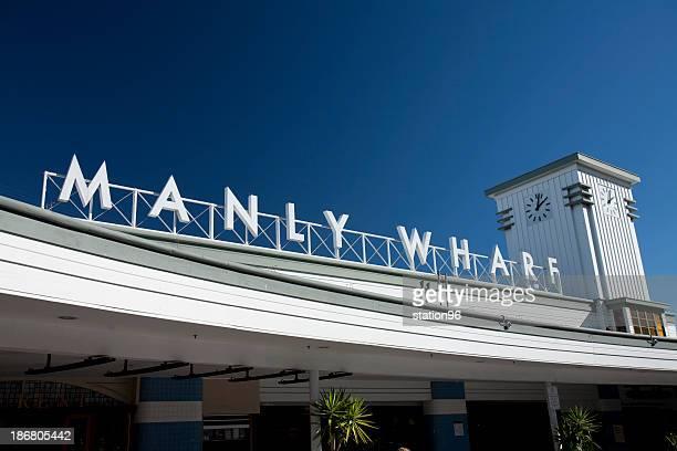 Manly Wharf, Ferry port, Sydney, Australia