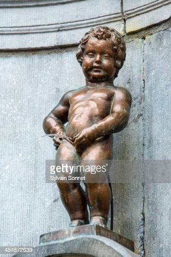 Mannekin Pis Statue Brussels