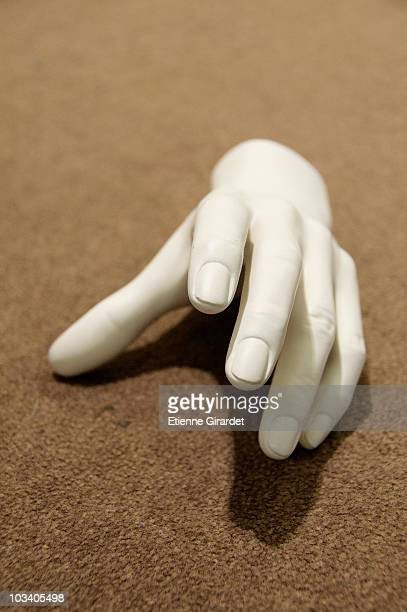 A mannequin hand