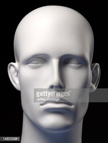 Mannequin Head Black