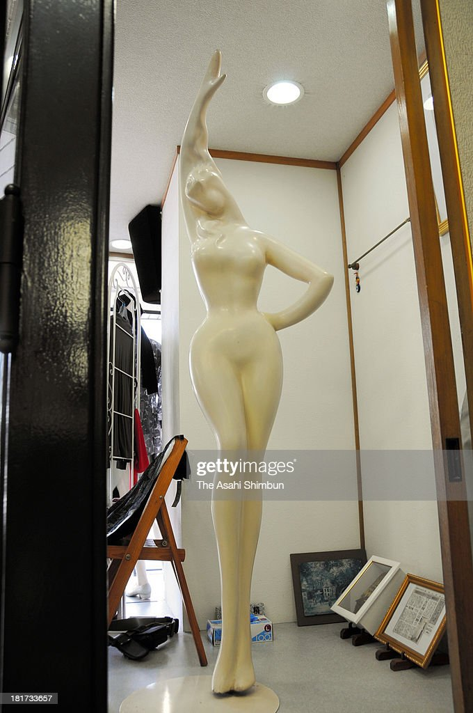 A mannequin, that is the work by artist Seiji Togo, is seen at a clothing store on September 22, 2013 in Echizen, Fukui, Japan. The mannequin is to be displayed during the exhibition held in his birthplace Kagoshima.