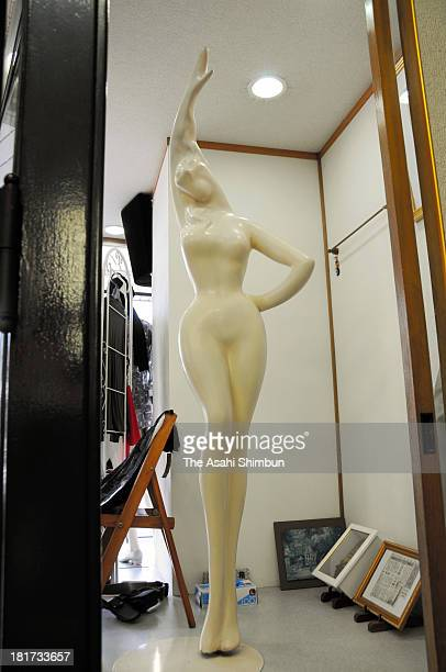 A mannequin that is the work by artist Seiji Togo is seen at a clothing store on September 22 2013 in Echizen Fukui Japan The mannequin is to be...
