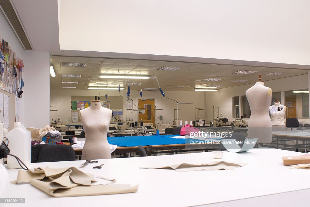 Mannequins in design studio : Stock Photo