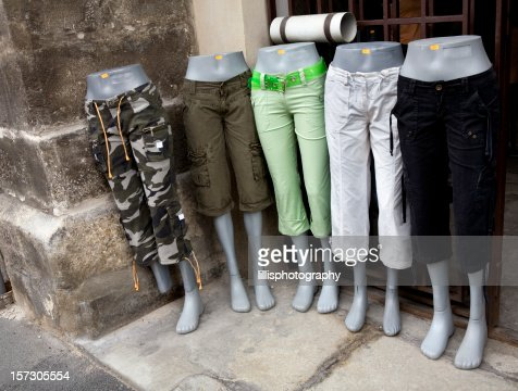 Mannequins Retail Shop in Capri Pants