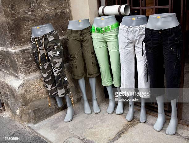 Mannequins Retail Shop in Capri Pants