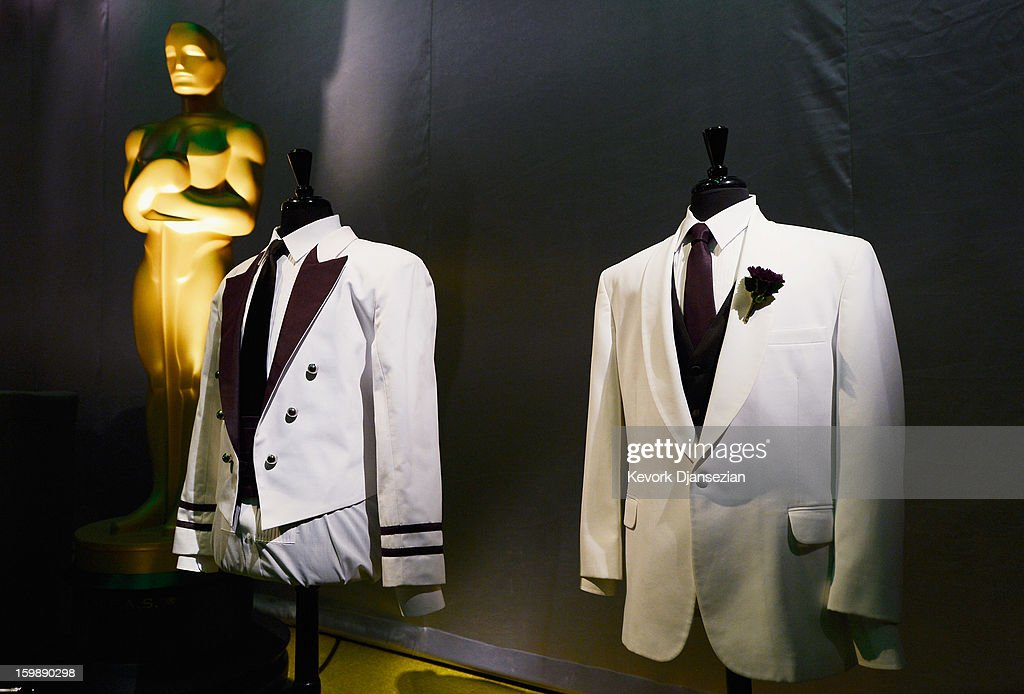 Mannequins showing the costumes of waiters are seen during a preview of the 85th Academy Awards Governors Ball on January 22, 2013 in Hollywood, California. Academy governor Jeffrey Kurland, event producer Cheryl Cecchetto and Puck will return to create this year's Governors Ball, the Academy's official post-Oscar celebration, which will immediately follow the 85th Academy Awards ceremony on Sunday, February 24. The 1,500 guests include Academy Award winners and nominees, show presenters and other telecast participants.