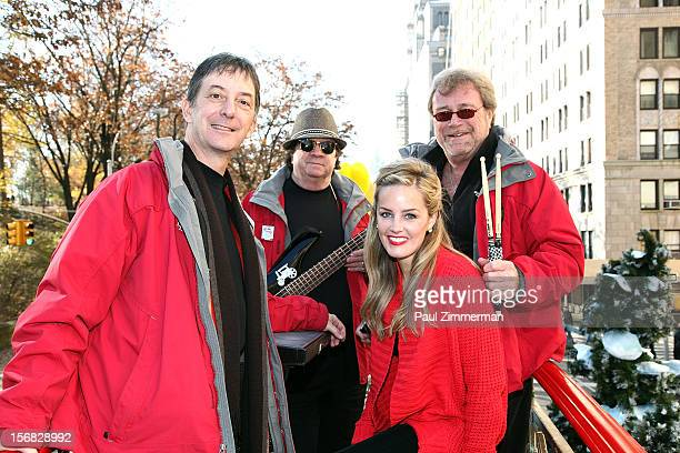 Mannheim Steamroller Jonathan Swoboda Johnny Adams Karly Jurgensen and Chip Davis Rock Macy's Thanksgiving Day Parade For Unpresidented 3rd Straight...