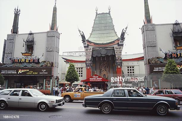 Mann's Chinese Theatre Hollywood Boulevard Hollywood California August 1981
