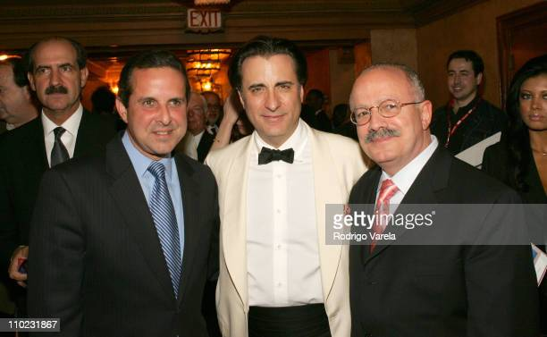 Manny Diaz Andy Garcia and Eduardo Padron during 2005 Miami International Film Festival Opening Night 'Modigliani' Premiere at Gusman Center for the...