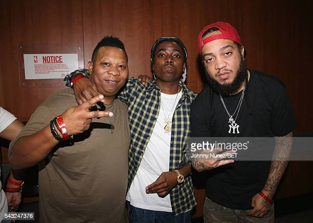 Manny Fresh attends the 2016 BET Experience Staples Center Concert Presented by Sprite Performances by LIL WAYNE 2 CHAINZ TORY LANEZ A$AP FERG FETTY...