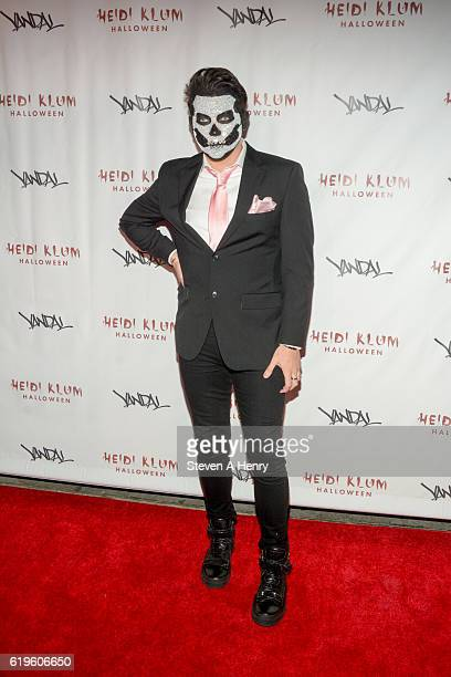 Manny Gutierrez attends Heidi Klum's 17th Annual Halloween Party at Vandal on October 31 2016 in New York City