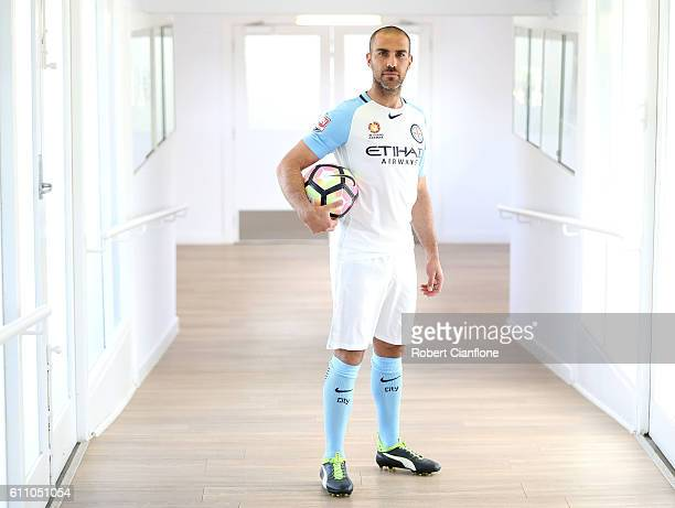 Manny Muscat of Melbourne City FC poses for a portrait on September 29 2016 in Melbourne Australia