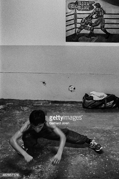 Manny Pacquiao aged 17 training at LM Gym in Manila Manny ran away from his impoverished home at the age of 14 in order to lessen the burden on his...