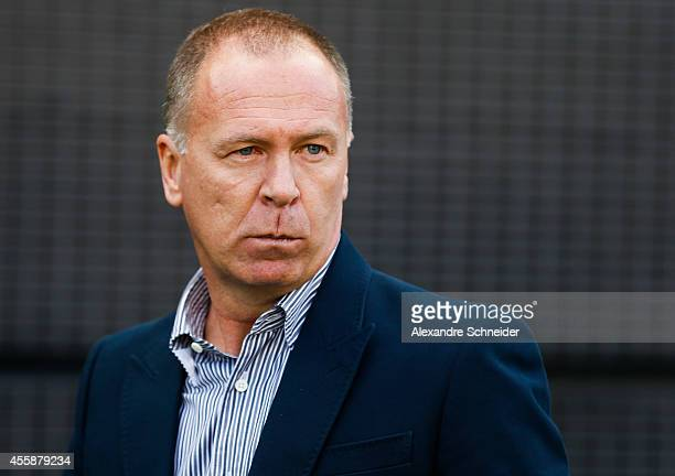 Mano Menezes coach of Corinthians in action during the match between Corinthians and Sao Paulo for the Brazilian Series A 2014 at Arena Corinthians...