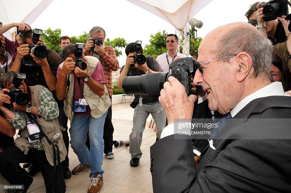 Manoel de Oliveira honored during the 61st Cannes Film Festival