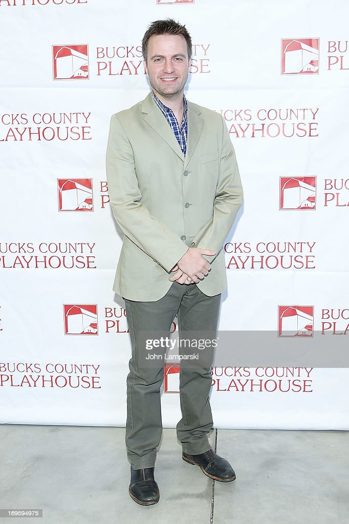 Manoel Felciano attends 2013 Bucks County Playhouse Summer Season Press Preview at Signature Theater on May 28, 2013 in New York City.
