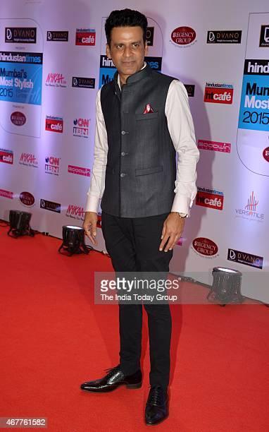 Manoj Bajpai at HT Mumbais most stylish awards 2015 in Mumbai