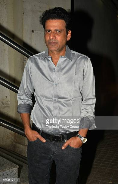 Manoj Bajpai at premiere of the movie Ugly in Mumbai