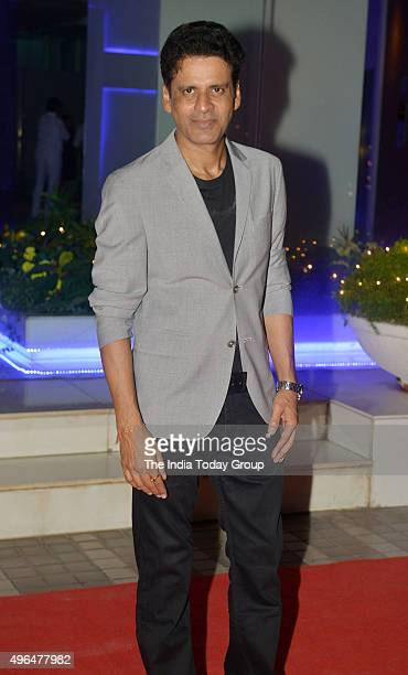 Manoj Bajpai in Producer Anand Pandit diwali party