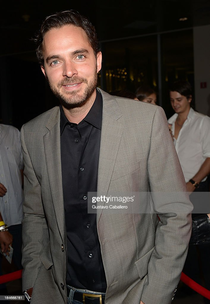 Manolo Cardona arrives for the premiere of 'The Snitch Cartel'at Regal South Beach on October 14, 2013 in Miami, Florida.