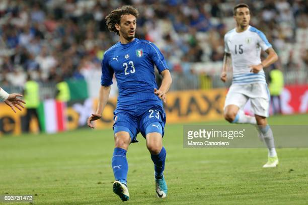 Manolo Gabbiadini of Italy during the international friendly match between Italy and Uruguay Italy wins 30 over Uruguay