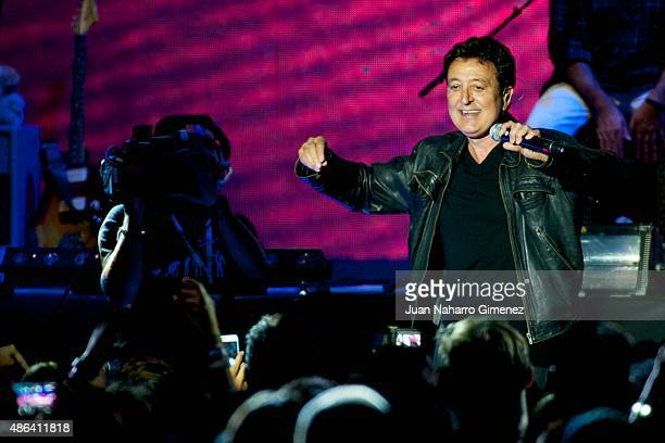 Manolo Garcia performs on stage during 'Cadena Dial' 25th Anniversary concert at Barclaycard Center on September 3 2015 in Madrid Spain