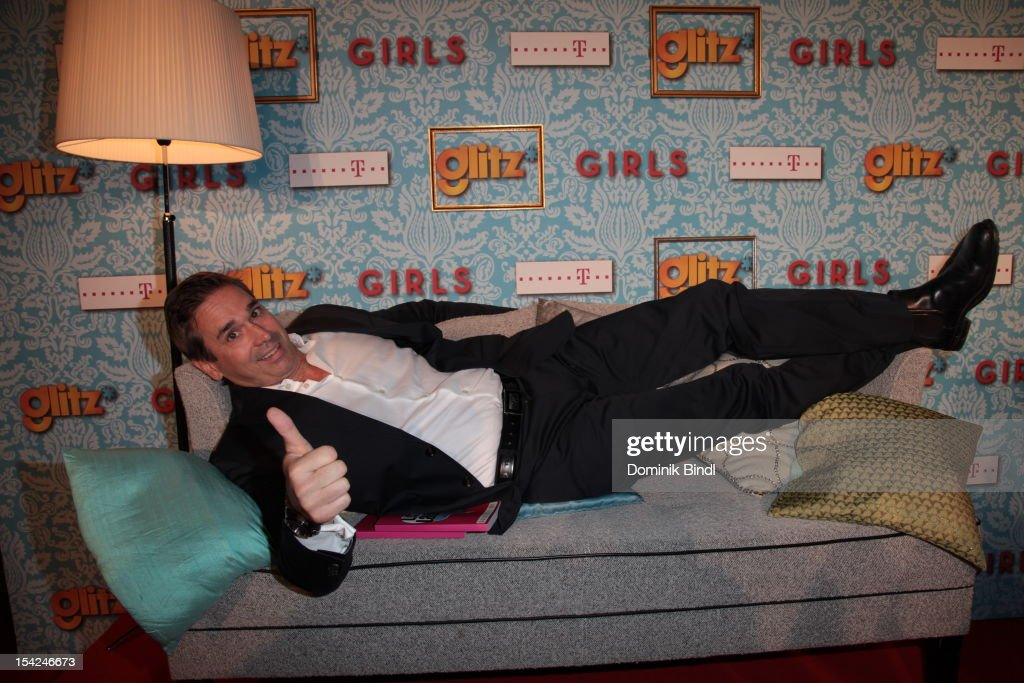 Manou Lubowski attends 'Girls' preview event of TV channel glitz* at Hotel Bayerischer Hof on October 16, 2012 in Munich, Germany. The series premieres on October 17, 2012 (every Wednesday at 9:10 pm on glitz*).