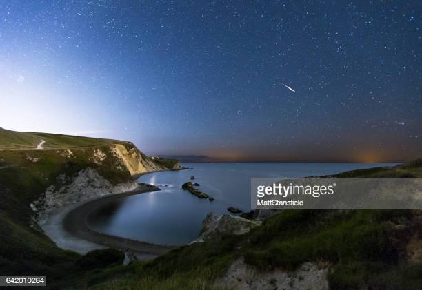 Man-O-War Bay at Night