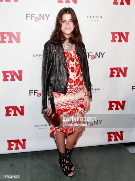 manrepeller blogger Leandra Medinattends the 2012 Footwear News Achievement awards at The Museum of Modern Art on November 27 2012 in New York City