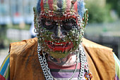 Heavily pierced and decorated eccentric