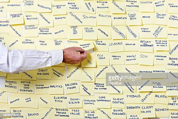 """Homme prend la main «changement de paradigmes """"note DU noticeboard de termes en vogue"""