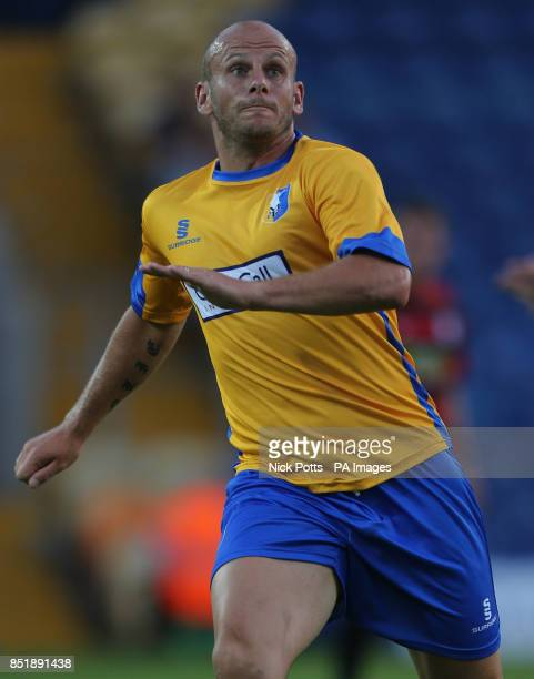 Mansfield Town's Adam Murray during PreSeason Friendly against Peterborough United at One Call Stadium Mansfield