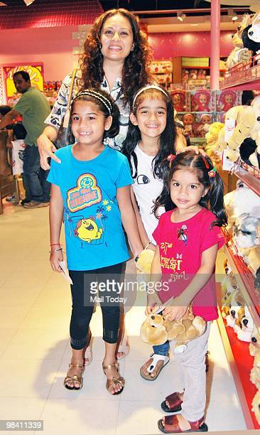 Mansi Joshi Roy at the launch of a branch of �Hamleys� toy store in Mumbai on April 9 2010