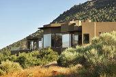 """""""Luxury home on desert mountainside landscape.  Village of Oak Creek, Arizona, 2010."""""""