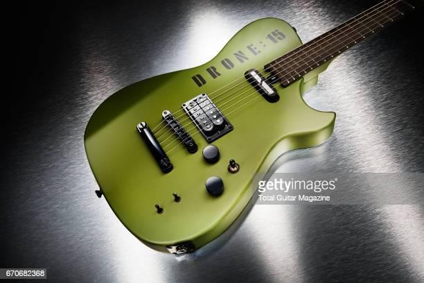 A Manson Matt Bellamy DR1 Drone electric guitar taken on September 27 2016
