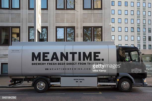 Mantime Brewery beer tanker in London United Kingdom Meantime Brewing Company is a brewery based in Greenwich London England In May 2015 SAB Miller...