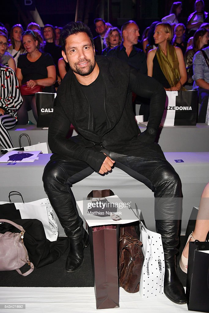 Manu Bennett attends the Odeur show during the Mercedes-Benz Fashion Week Berlin Spring/Summer 2017 at Erika Hess Eisstadion on June 28, 2016 in Berlin, Germany.