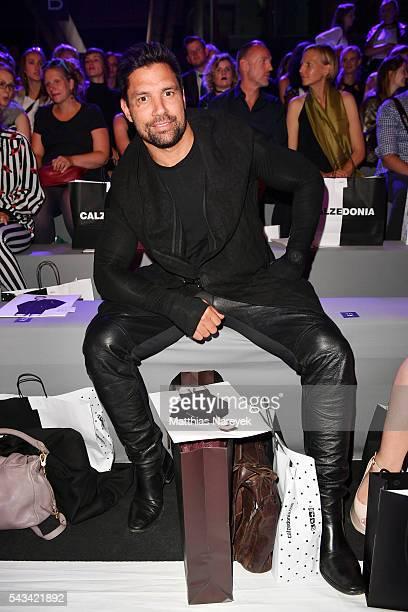 Manu Bennett attends the Odeur show during the MercedesBenz Fashion Week Berlin Spring/Summer 2017 at Erika Hess Eisstadion on June 28 2016 in Berlin...