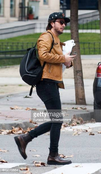 Manu Carrasco is seen on January 12 2017 in Madrid Spain