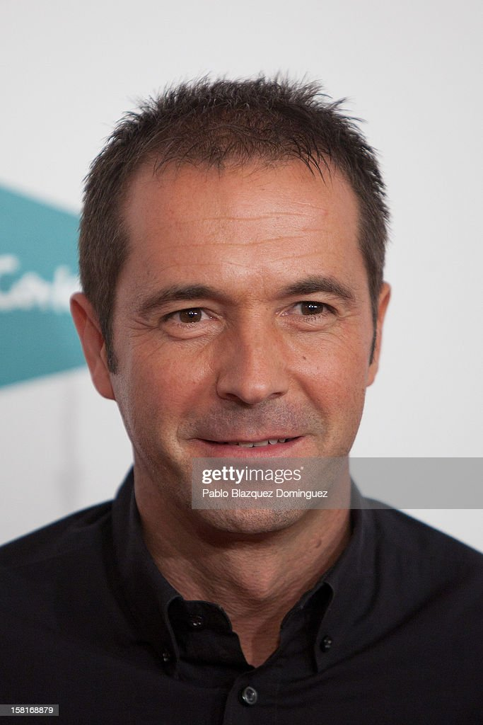 Manu Carreno attends 'As Del Deporte' Awards 2012 at The Westin Palace Hotel on December 10, 2012 in Madrid, Spain.