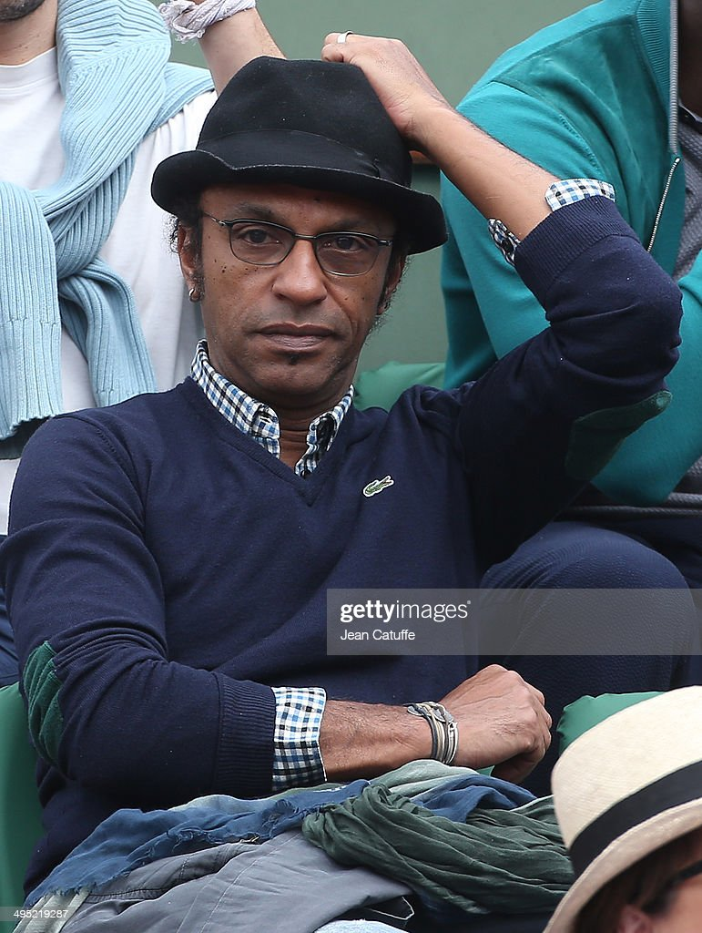 <a gi-track='captionPersonalityLinkClicked' href=/galleries/search?phrase=Manu+Katche&family=editorial&specificpeople=4327165 ng-click='$event.stopPropagation()'>Manu Katche</a> attends Day 8 of the French Open 2014 held at Roland-Garros stadium on June 1, 2014 in Paris, France.