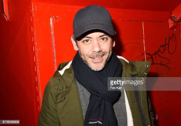 Manu Payet attends 'Les Fooding 2018' Cocktail at Les Follies Pigalle 11 Place Pigalle on November 13 2017 in Paris France