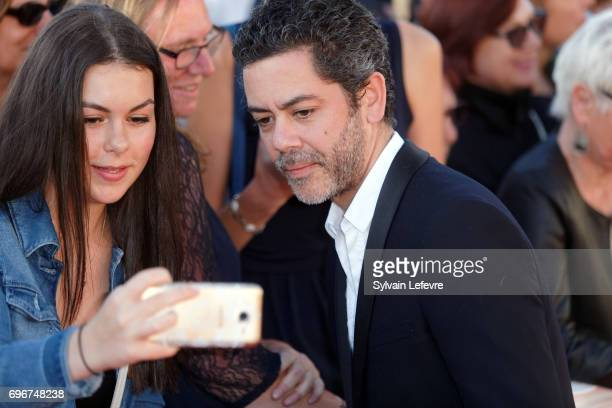 Manu Payet attends red carpet of 3rd day of the 31st Cabourg Film Festival on June 16 2017 in Cabourg France