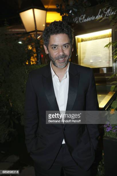 Manu Payet attends the Dinner of 'La Nuit des Molieres 2017' at la Closerie des Lilas on May 29 2017 in Paris France