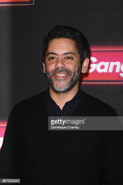 Manu Payet attends the 'Gangsterdam' Paris Premiere at Le Grand Rex on March 23 2017 in Paris France