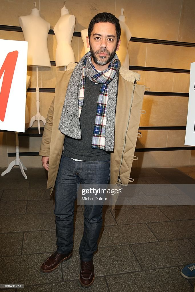 Manu Payet attends the Maison Martin Margiela With H&M Collection Launch at H&M Champs Elysees on November 14, 2012 in Paris, France.