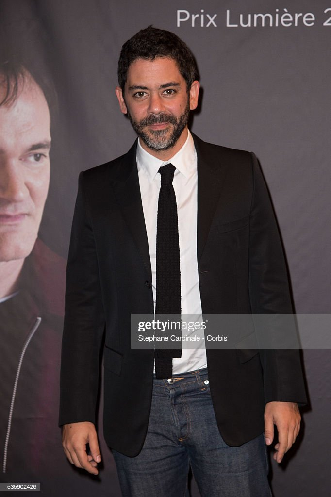 Manu Payet attends the Tribute to Quentin Tarantino, during the 5th Lumiere Film Festival, in Lyon.